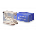 Cotton Roll Dispenser - Clear, Acrylic (box of 1)