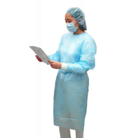 Disposable Isolation Gowns - Non-Woven, Fabric (case of 50)