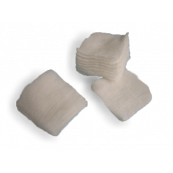 "Gauze - Cotton-filled 2"" x 2"" (case of 5000)"