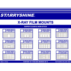 X-Ray Film Mounts - Pocket, Vinyl (box of 100)