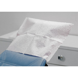 Dental Headrest Covers - Tissue/Poly (box of 500)