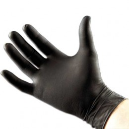 Disposable 'BLACK' Nitrile Gloves (box of 100)