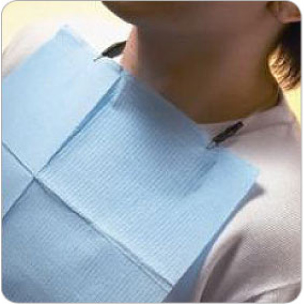 Patient Bibs Tissue Poly Case Of 500