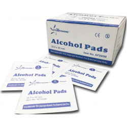 Alcohol Prep Pads / Swabs (box of 200)